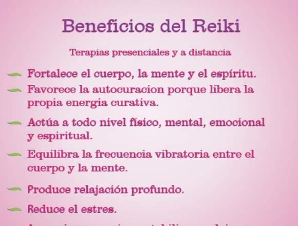 Terapias de sanación Reiki