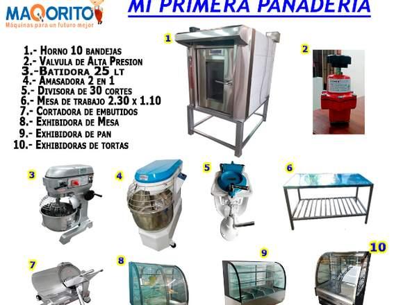 EQUIPAMIENTO DE PANADERÍA
