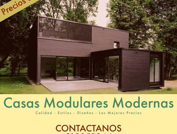 Casa Modulares a bajo Costo