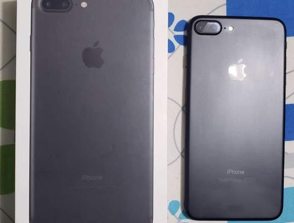 iPhone 7 Plus 128gb Negro Mate No Cambios