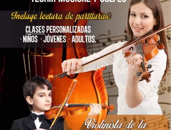 Clases de Violín, Piano y teoría musical