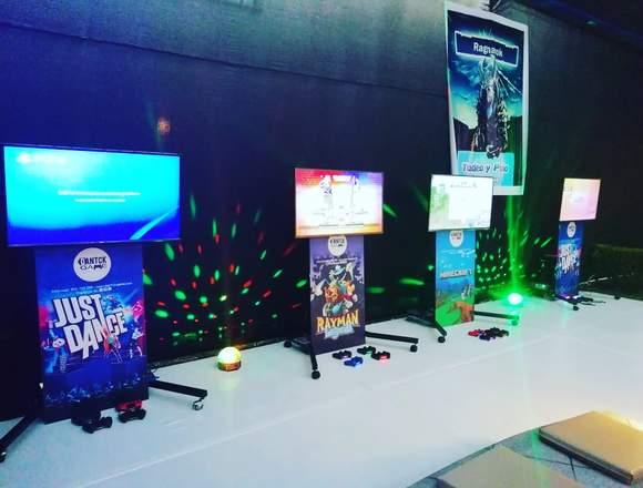 Alquiler De Videojuegos para Cumpleaños y Eventos