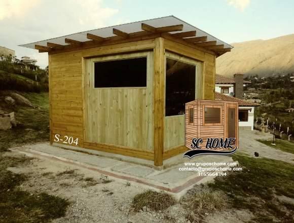 Saunas en madera teka o pino patula