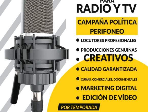 SPOT PUBLICITARIO, COMERCIAL PARA RADIO Y TV