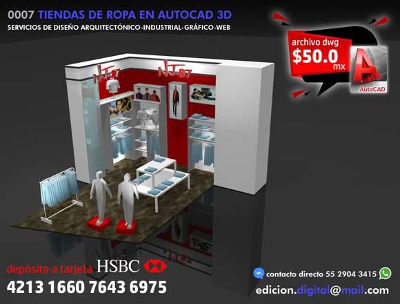 Bloques de Autocad 3D
