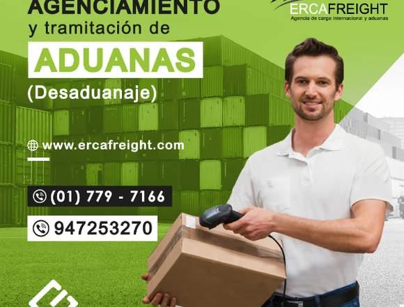 AGENCIAMIENTO Y DESANUAJE DE MERCANCÍAS