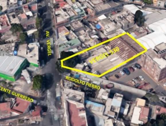Venta Bodega 1,300 m² Delegación Iztapalapa