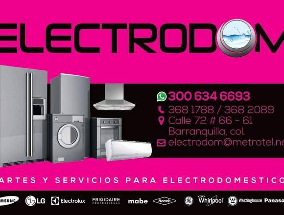 mantenimiento aires,neveras,lavadoras,electrolux,