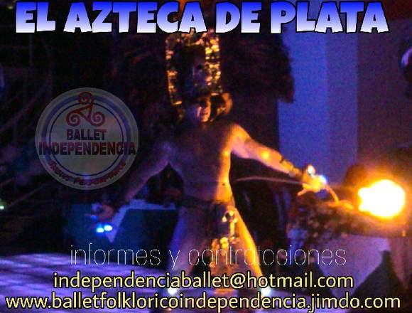 EL DIOS AZTECA DE PLATA EN TU FIESTA,BODA,XV AÑOS