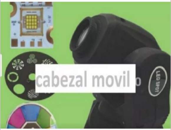 Cabezal Movil Led 60w 8 Colores