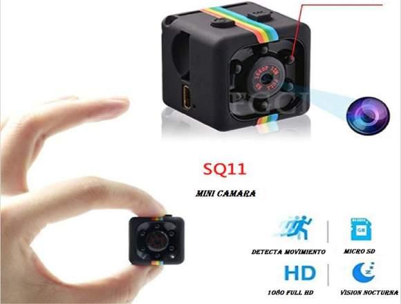 Mini videocámara HD (espía)