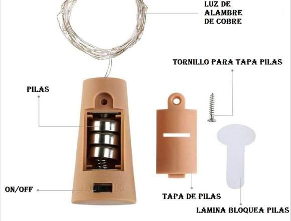 Corcho Led (14 piezas)