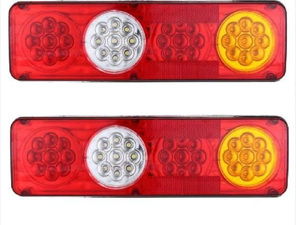 Luces traseras LED (Redondas)