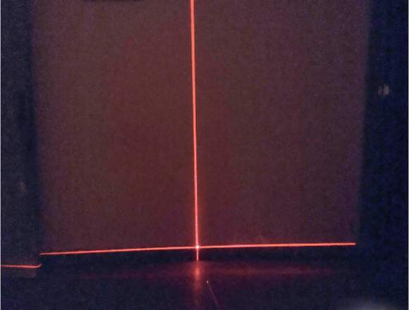 Nivel Laser Autonivelante 2 Lineas Cruzadas