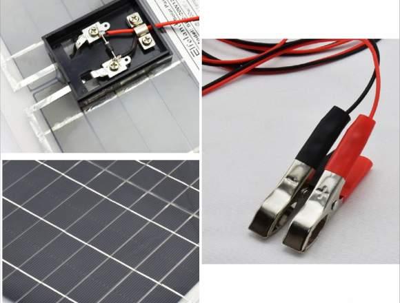 Panel Solar 12v 20w Inversor De 2000w 12v A 220v