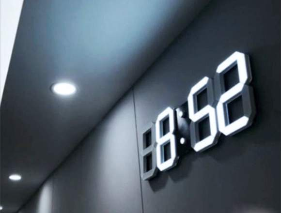 Reloj Digital Led (Despertador - Pared/Mesa)