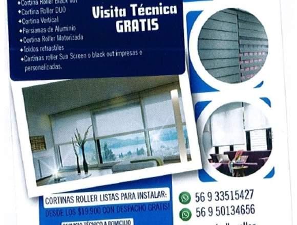 Reparación de cortinas roller y persianas