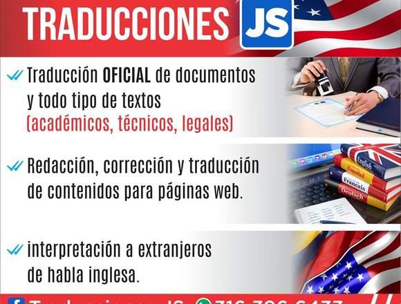 Traducción Oficial de Documentos Todos Los Idiomas