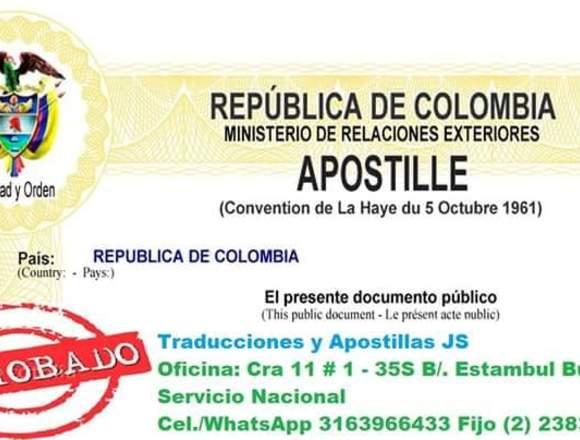 Apostilla y Legalización de Documentos, Trámites