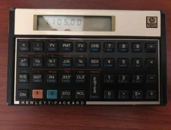 Calculadora Financiera Hewlett Packard HP 12C