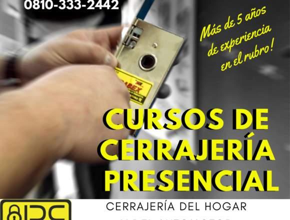 CURSO DE CERRAJERÍA DEL HOGAR Y DEL AUTOMOTOR