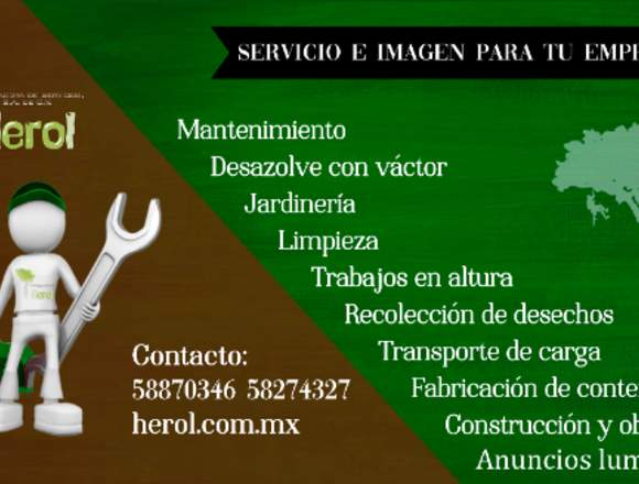 Recolección de basura en Atizapán ✅ Herol