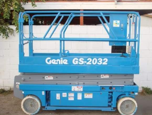 Arriendo alzahombre Genie y JLG