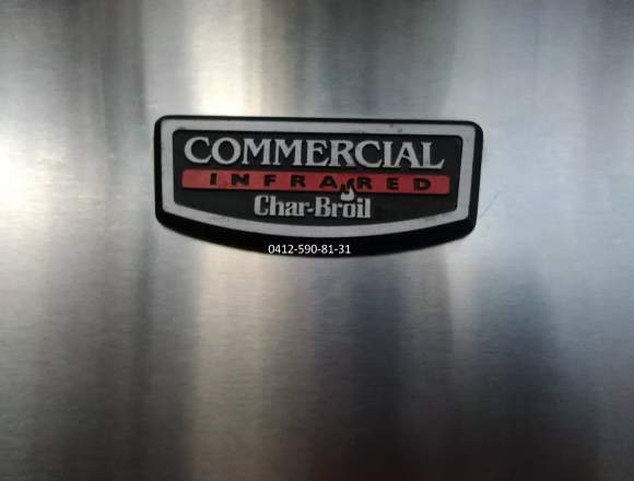 Parrillera Char-broil Tru-infrared Commercial 4