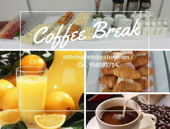 Servicio de Catering, Buffets, Coffee Break, Bodas