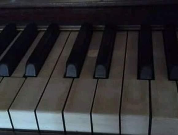 Clases de můsica. Piano y guitarra