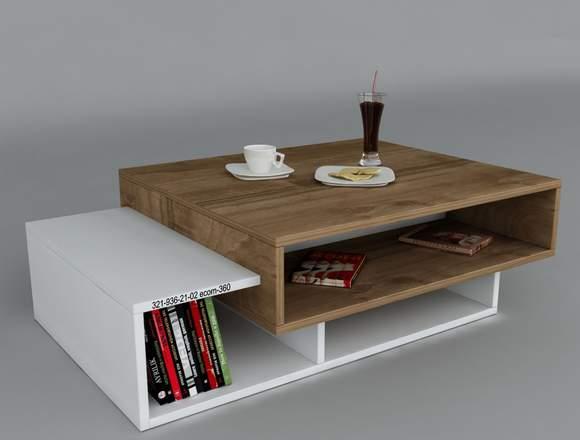 Mesa de Centro Moderna Minimalista