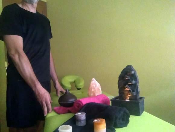 Masajista-masajes de relajacion
