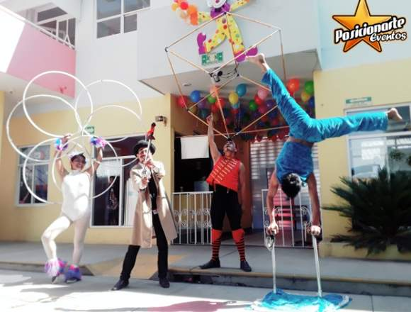 Show de Mimos / Show de Circo: Fuego