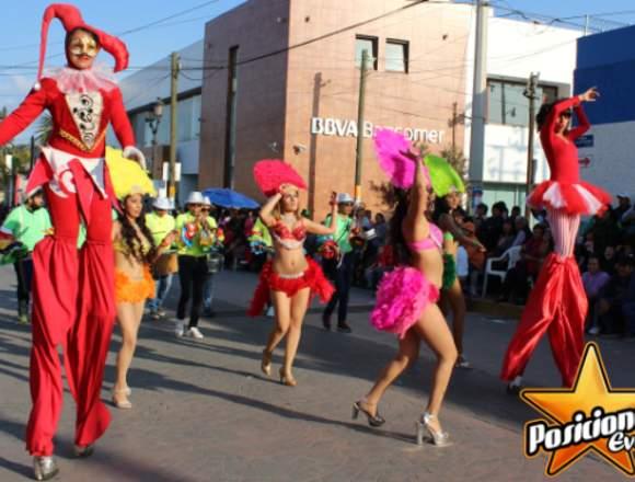 Batucada y Zanqueros: Desfiles de Feria, Caravana