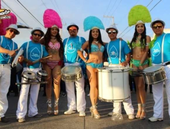 Batucada Puebla /Samba Show: XV Años, Bodas