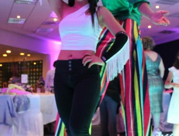 Zanqueros, Show para eventos: XV años, Bodas