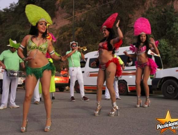 Batucada Brasileña, Show para Eventos: XV años