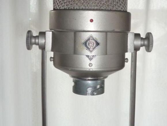 Micrófono Neumann M 49 C