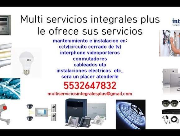 SERVICIO EN CONMUTADORES, CCTV,  Y MAS...