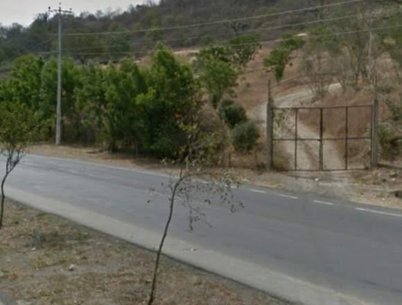 Vendo terreno en la via Portoviejo - Manta