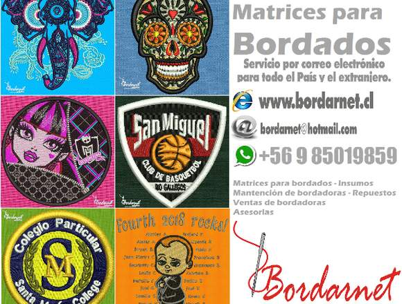 Matrices para bordados