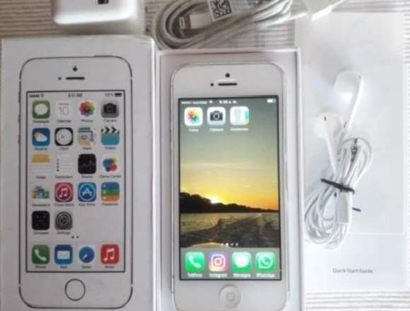 iPhone 5g 16GB. Blanco. Excelentes Condiciones