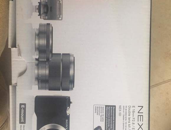 Sony NEX -5 casi nueva