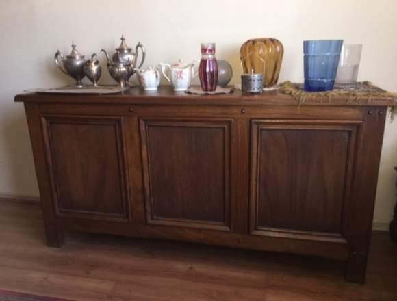 Mueble Buffet, madera europea, sólido y perdurable