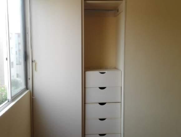 Alquilo 2 habitaciones c/baño compartido