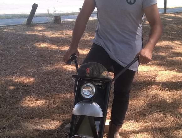 Moto eléctrica scooter, HECHA EN MEXICO,