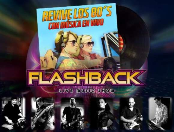 Música en vivo de los 70's, 80's y 90's