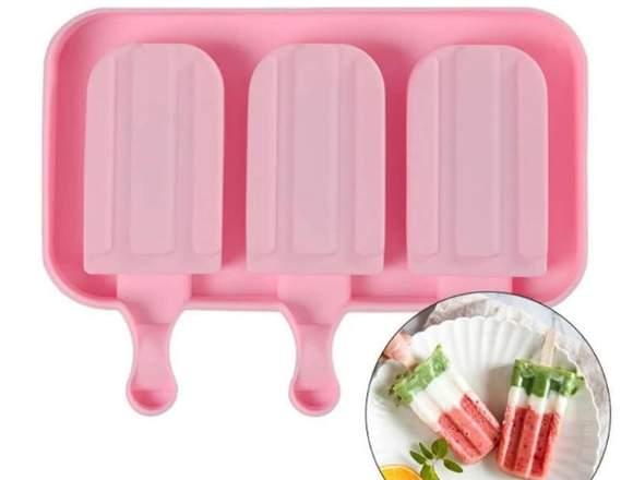 moldes de silicona para heladitos