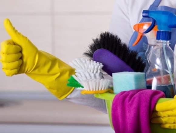 Limpieza con mantenimiento de interiores