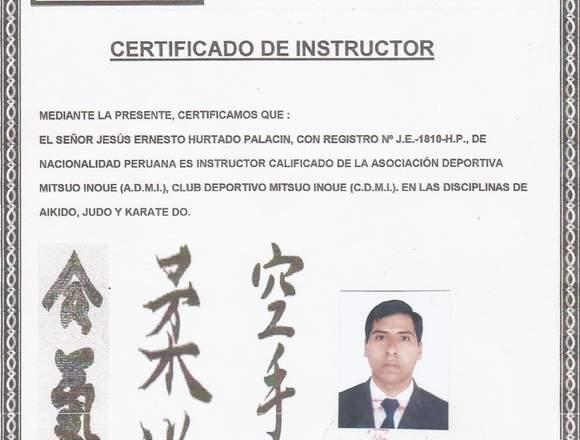 Karate y Defensa Personal